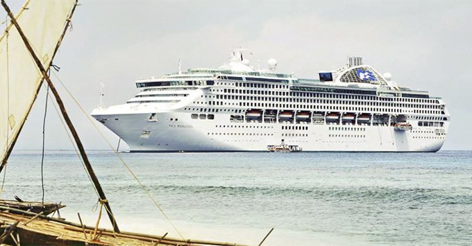 Sea Princess Cruise Ship Emerges From Dry Dock Cruise